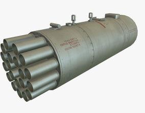3D model Rocket Launcher B-8V20A