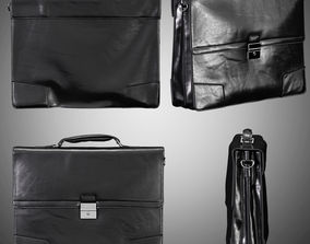 3D model MENS LEATHER BRIEFCASE