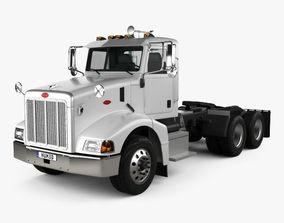 Peterbilt 385 Day Cab Tractor Truck 2007 3D