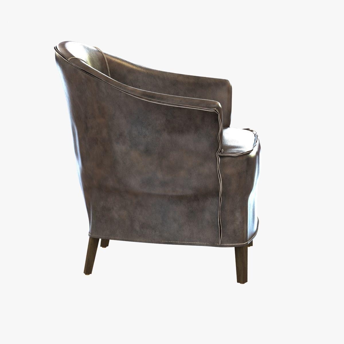 Regina Andrew Furniture Champagne Club Chair 3D Model MAX