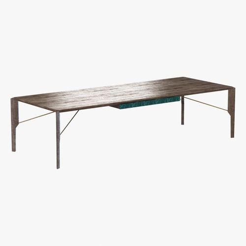 Arketipo glorious dining table 3d model cgtrader for New model dining table