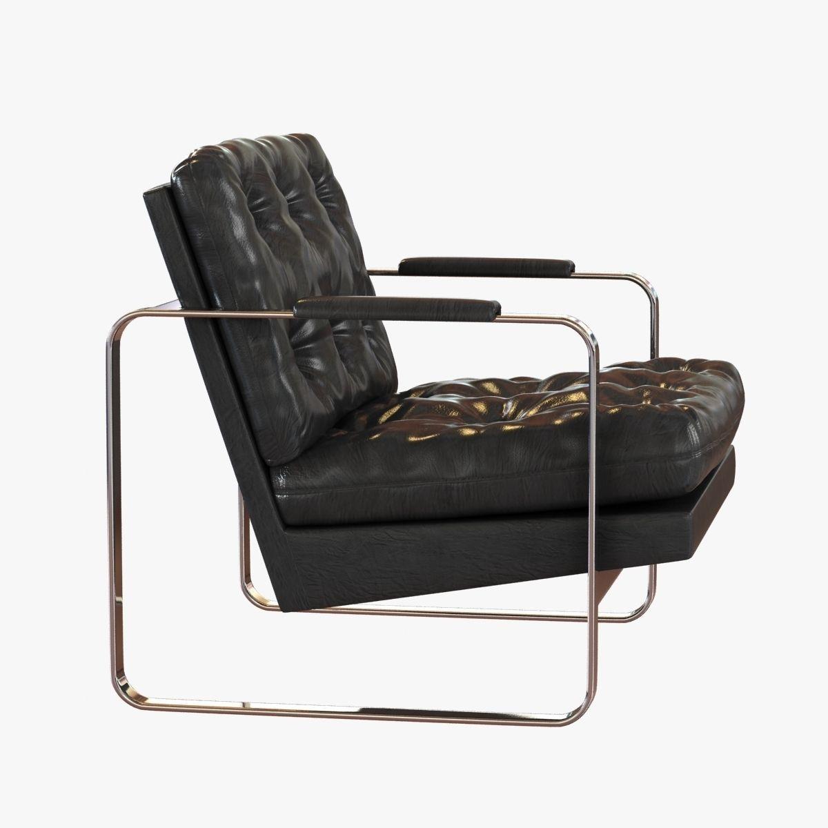 ... Milo Baughman For Thayer Coggin Lounge Chairs 3d Model Max Obj 3ds Fbx  Mtl Unitypackage 3 ...