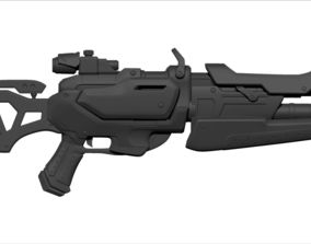 Overwatch Game weapon Model 3 toy