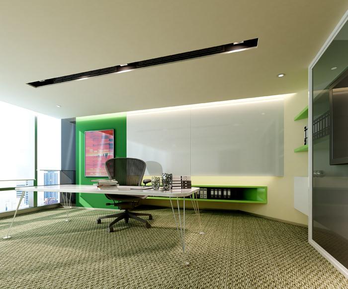 modern office cabinet. modern office cabinet 3d model max 2