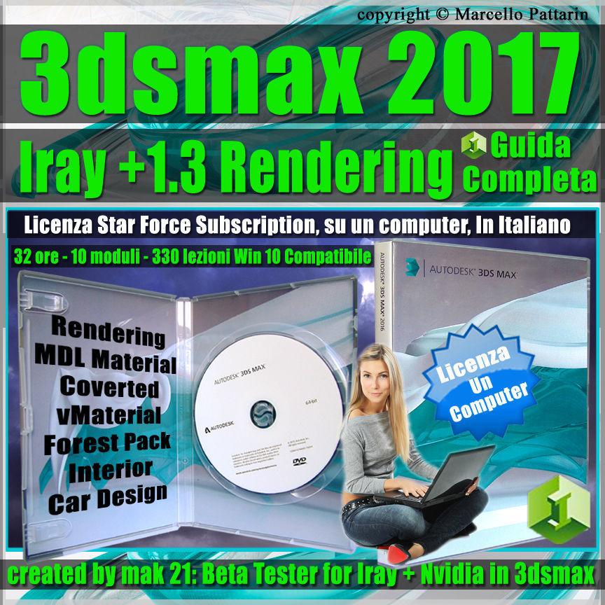 Iray  Upgrade 1 3 in 3ds max 2017 Guida Completa un Computer