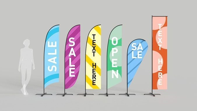Banner Commercial Flags
