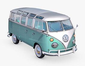 3D Volkswagen T1 1951