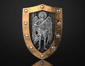3D print model Archangel Michael Shield