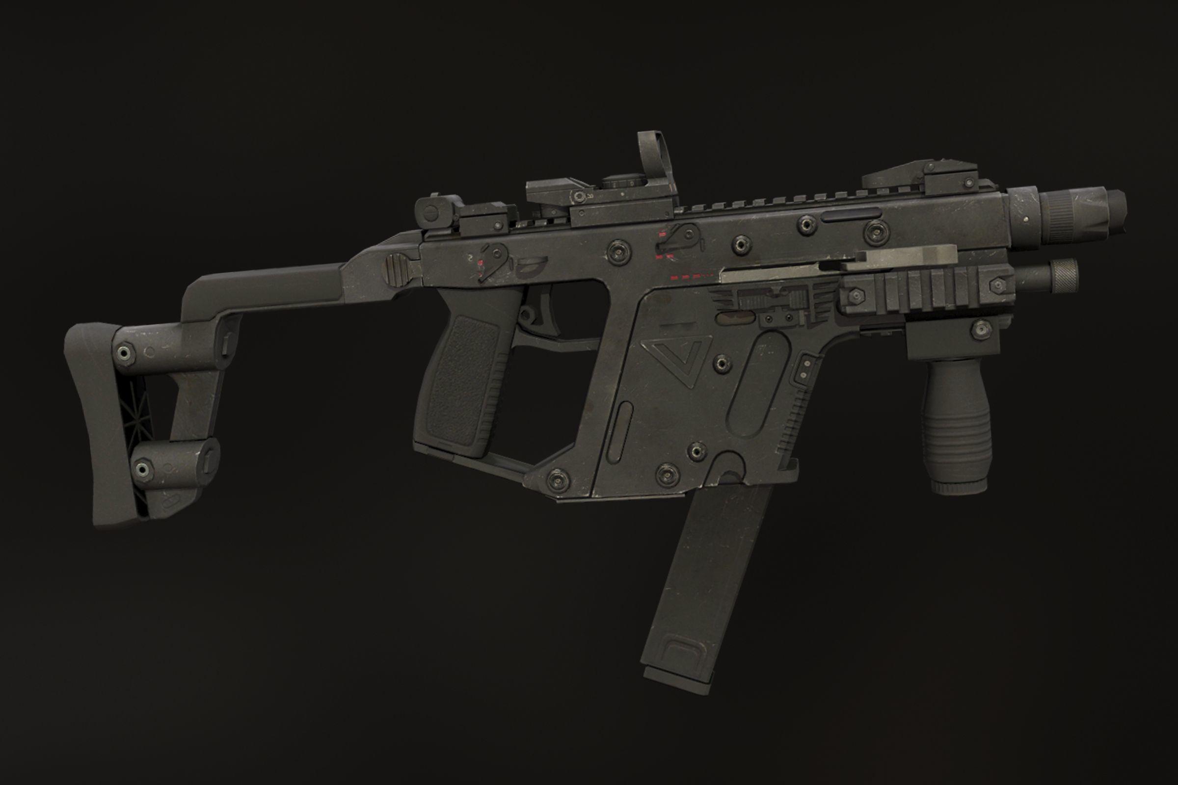 KRISS Vector | 3D model