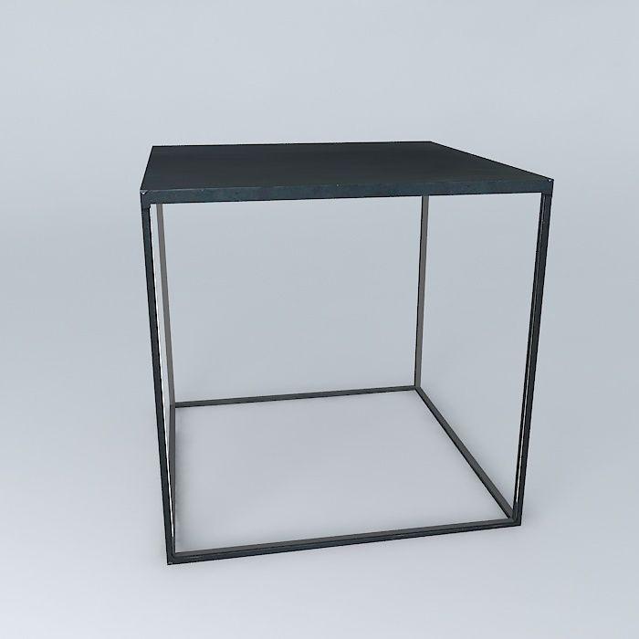 Coffee Table Edison Maisons du Monde 3D model MAX OBJ 3DS FBX STL DAE