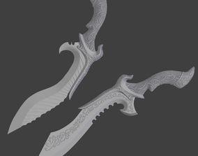 Nyx Ulric Dagger from Final Fantasy XV 3D printable model