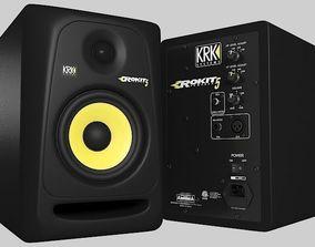 3D model Studio Monitor KRK Rokit 5