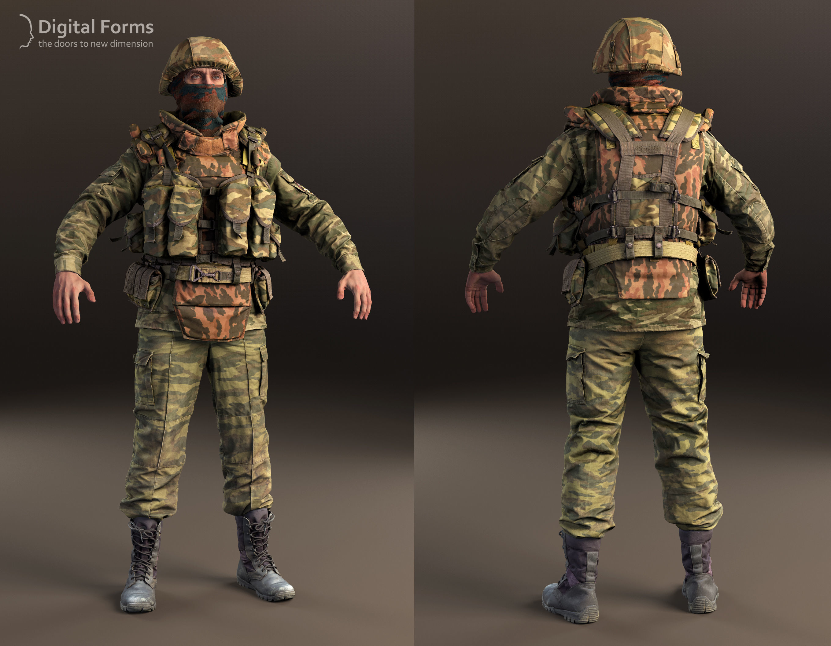 Russian uniform and equipment of the early 2000s