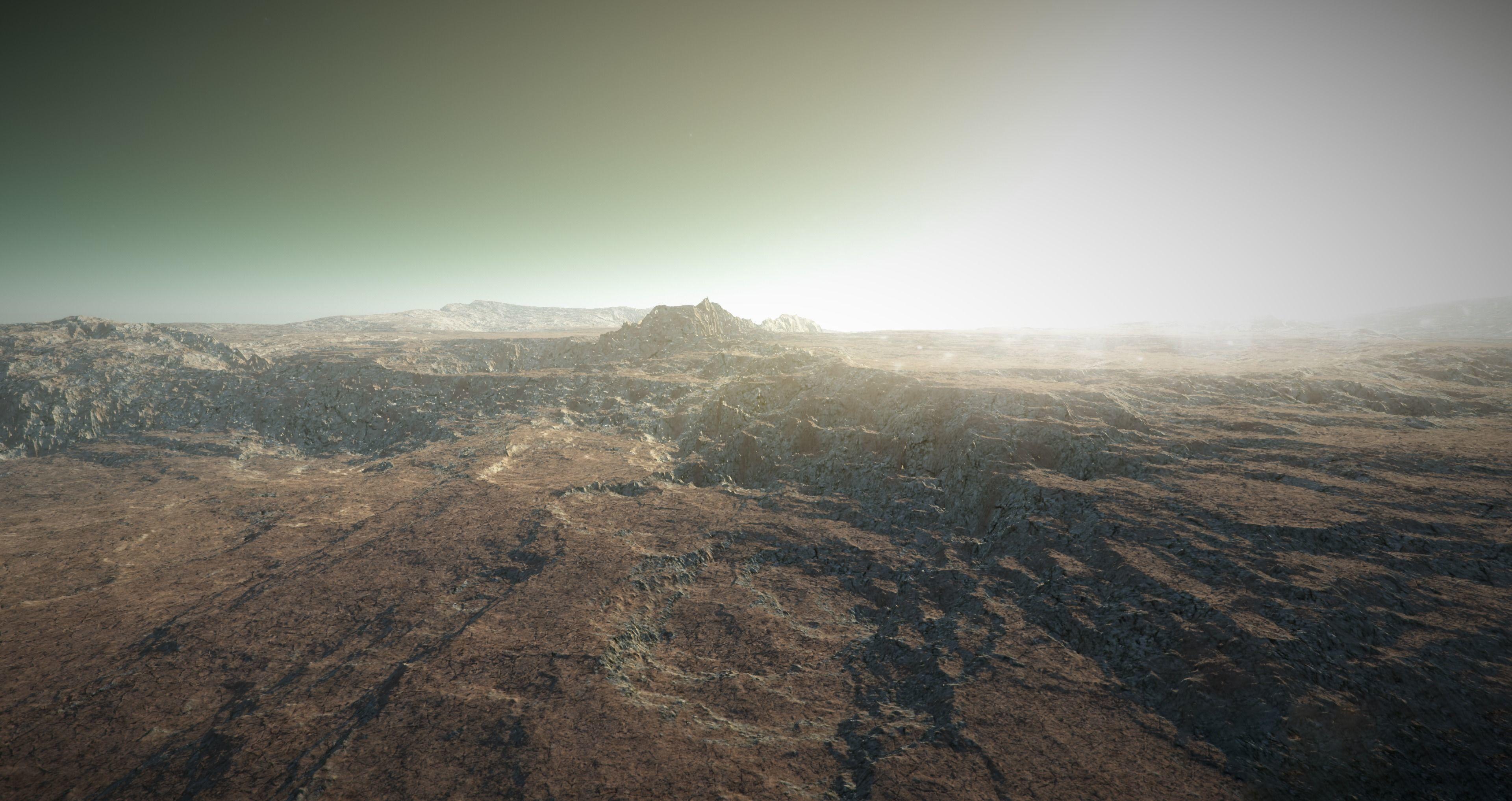 Mars Landscape 4K