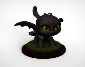 3D print model Toothless Pop Funko