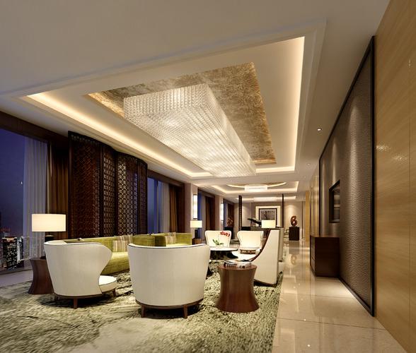 Hotel room3D model