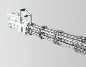 gameready 3D Minigun