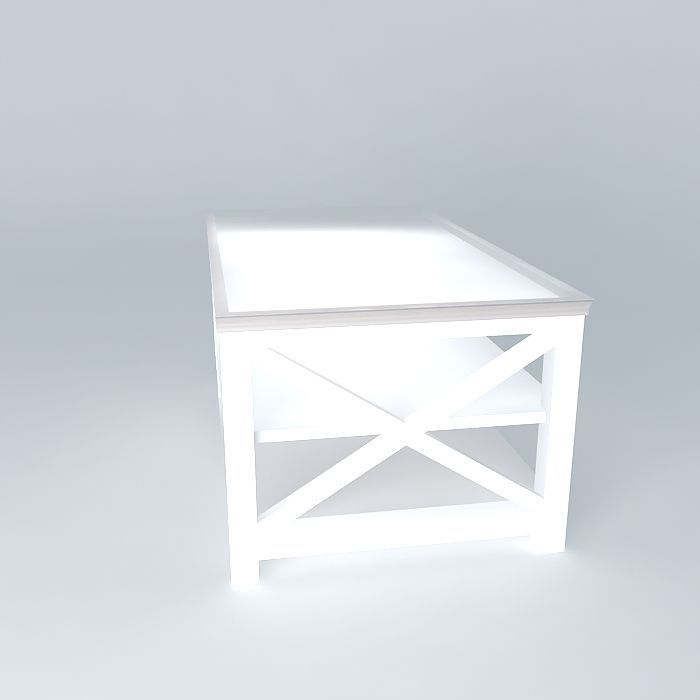 Coffee table newport maisons du monde 3d model max obj 3ds for Armoire newport maison du monde