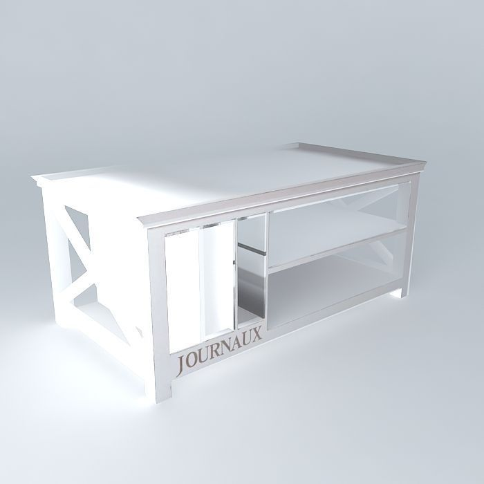 Coffee table Newport Maisons du monde 3D | CGTrader