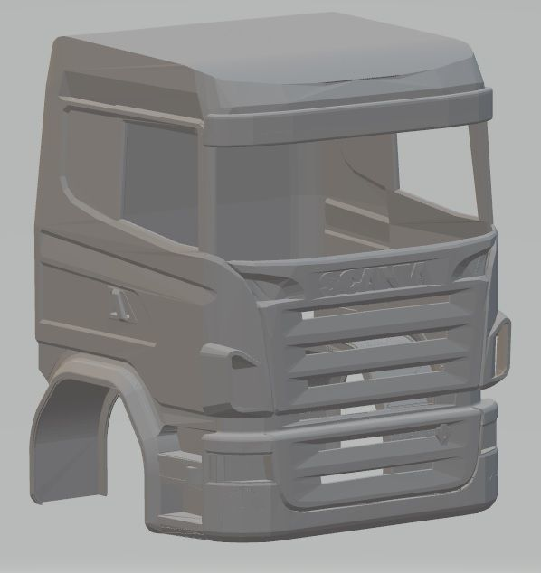 Scania R730 Printable Cabin Truck | 3D Print Model