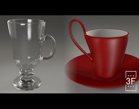 Coffee Cups 3D PBR