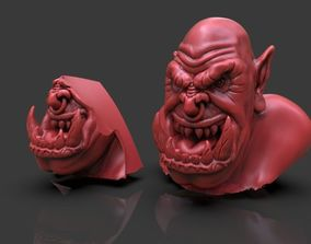 Orc Bust Full Process Part 1 and 2 Timelapse and Model