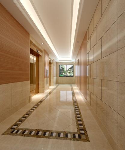Hotel Corridor 3D Model max CGTradercom