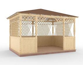 exterior pavilion 3D model