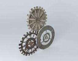 GEAR clock houses the world 3D model