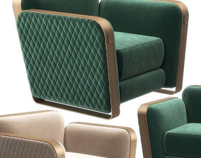 3D Voyage small armchair by Cantori