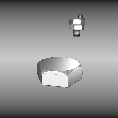 low-poly-bolt-in-wall-3d-model-low-poly-
