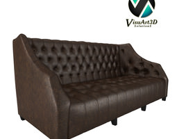 Tufted Sofa 33 3D Model