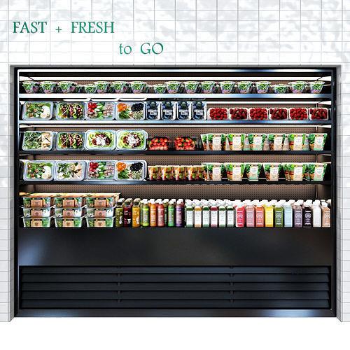 vegan bar 3d model max obj mtl 1