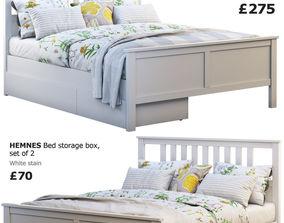 Ikea Hemnes bed 4 3D