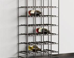 3D model Iron Wine Rack
