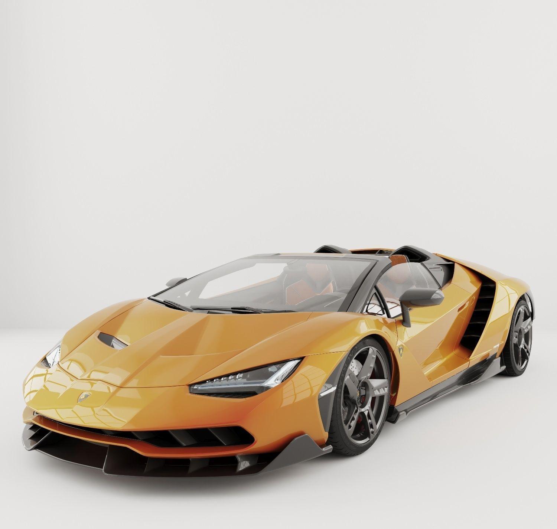 Lamborghini Centenario 3d Model Cgtrader