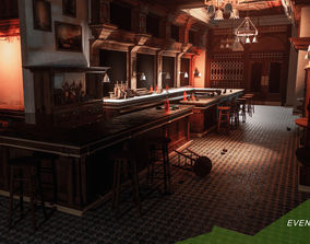 3D model Evening Bar