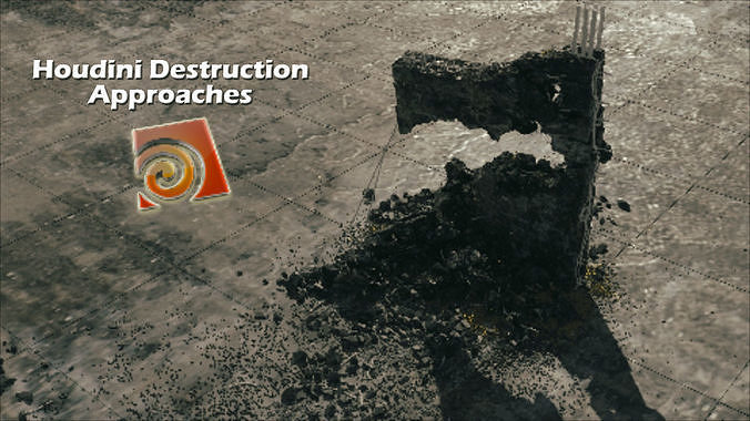 houdini 17 redshift destruction setup 3d model hda hip bgeo geo bclip clip hipnc 1