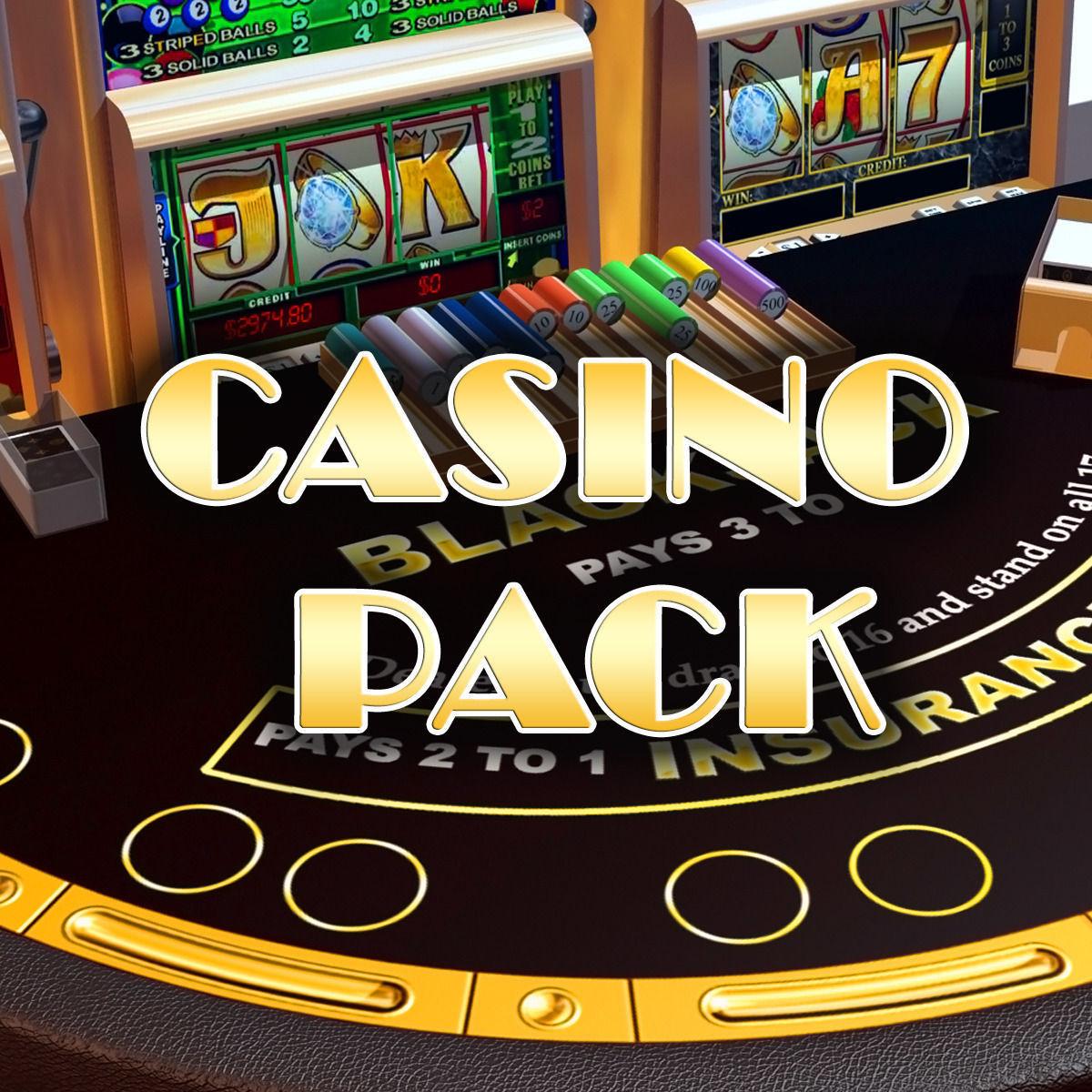 Casino en 3 d