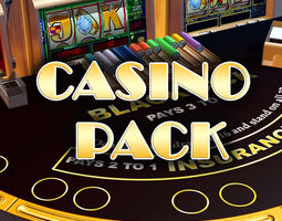 low-poly casino pack 3d asset