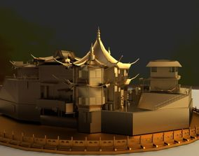 gugong 3D Chinese Ancient House