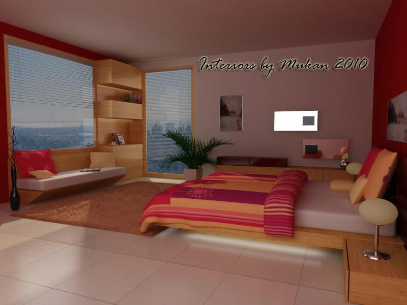 bedroom scene 03 3d model 3d model of bedroom render scene setup and