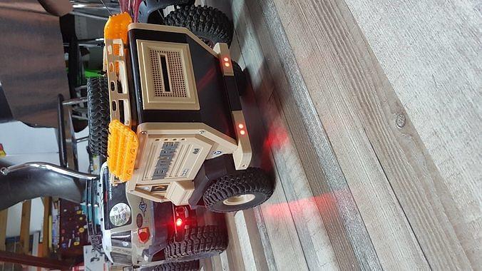 rc crawler champ hpi venture 3d model stl 1