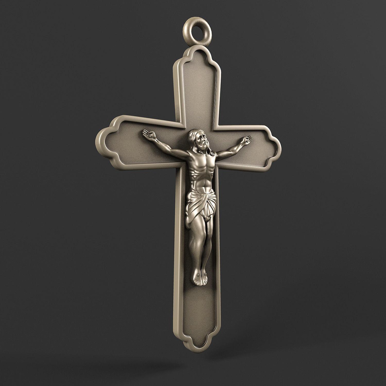 Jesus on the cross 3D model