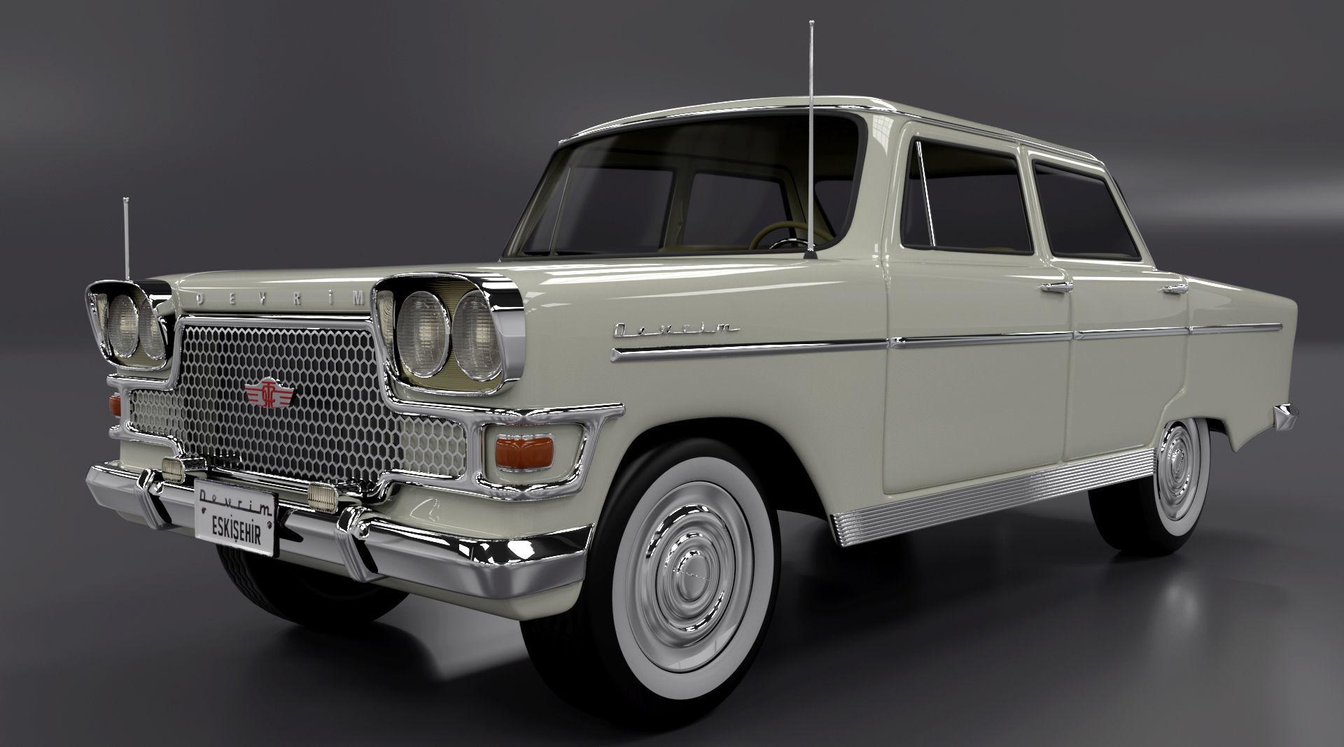 Devrim 1961 first car Turkey Republ
