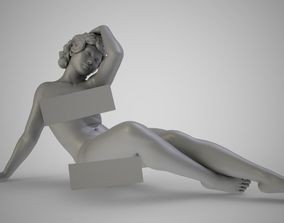 3D printable model Artistic Pose