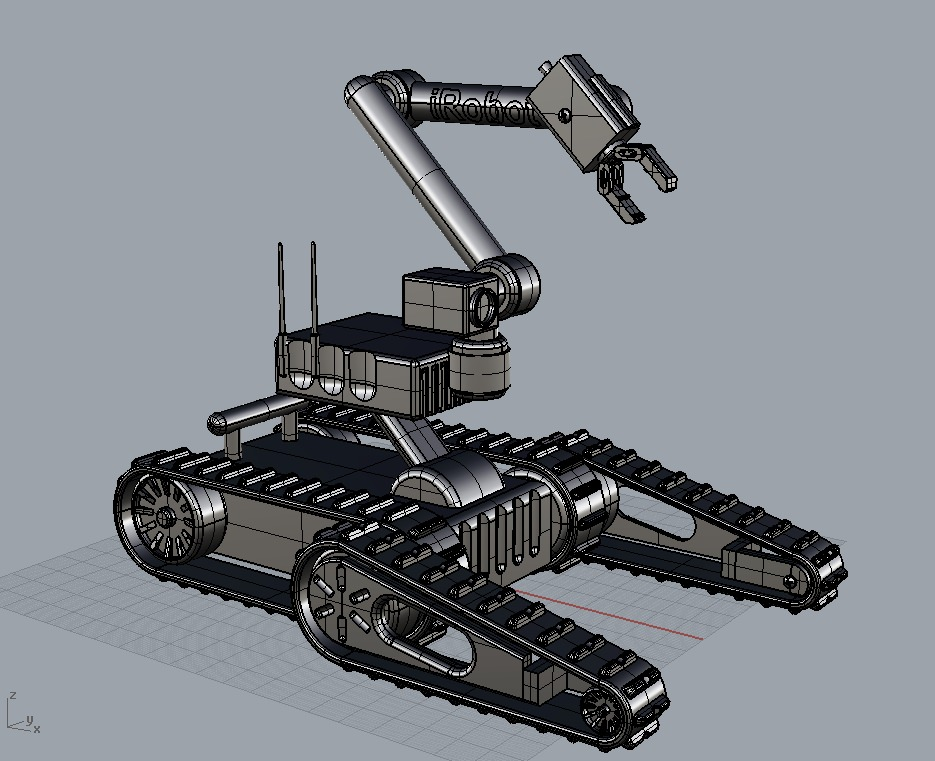 Military Robot Toy Free 3d Model 3d Printable 3ds Lwo Lw