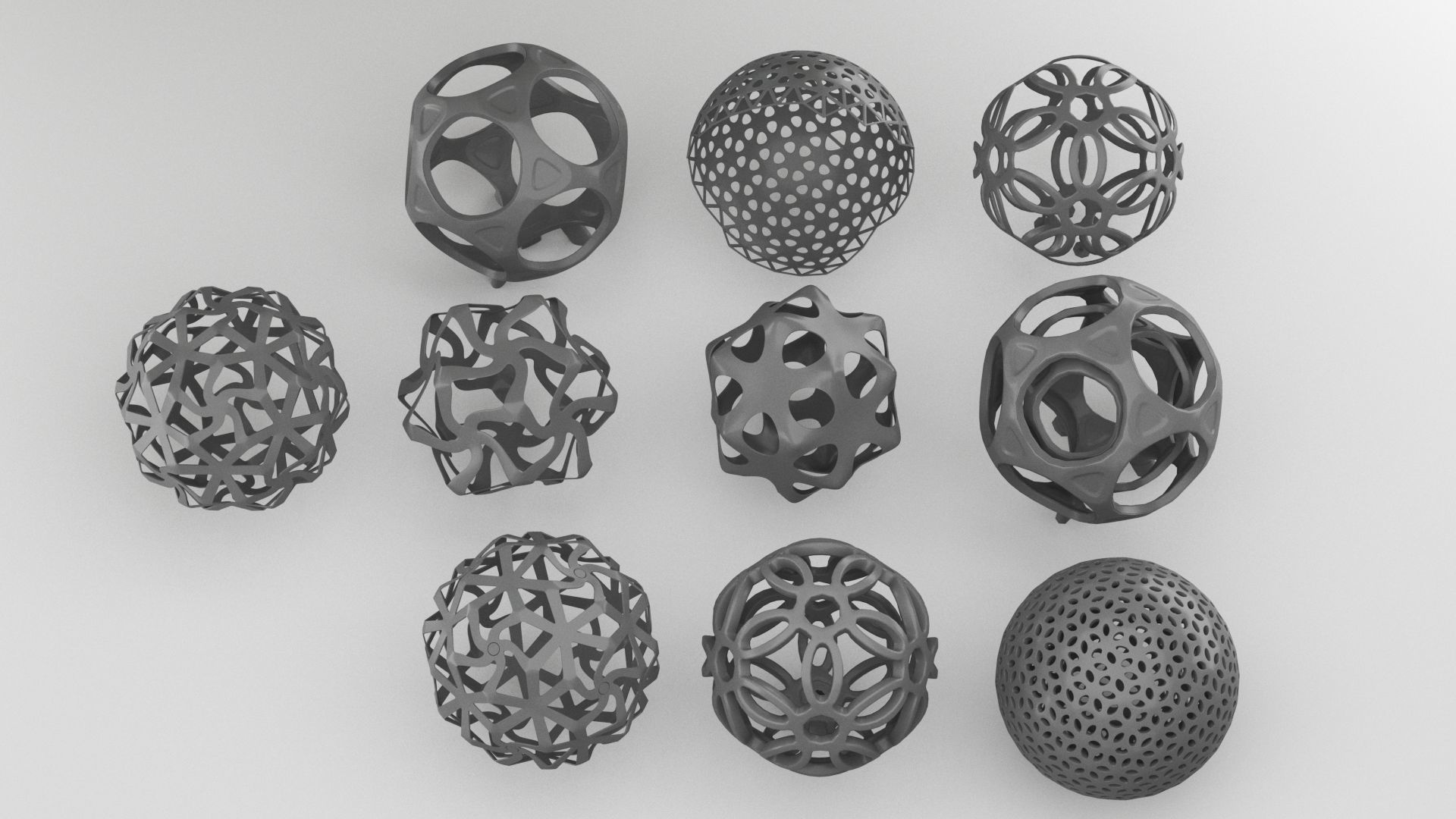 sphere custom pattern collection