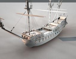 De Zeven Provincien 1665 3D model