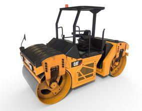 Vibratory Rollers compactors 3D model
